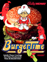 BurgerTime — 1982 at Barcade® in New Haven, CT