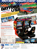 Daytona USA (Twin) — 1994 at Barcade® in New Haven, CT