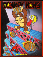 Donkey Kong —1981 at Barcade® in New Haven, CT
