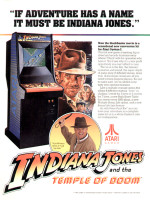 Indiana Jones and the Temple of Doom — 1985 at Barcade® in New Haven, CT