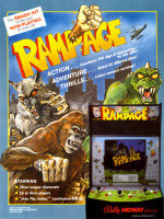 Rampage — 1986 at Barcade® in New Haven, CT