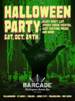 Barcade Halloween Party — October 29, 2016 at Barcade® in New Haven, CT