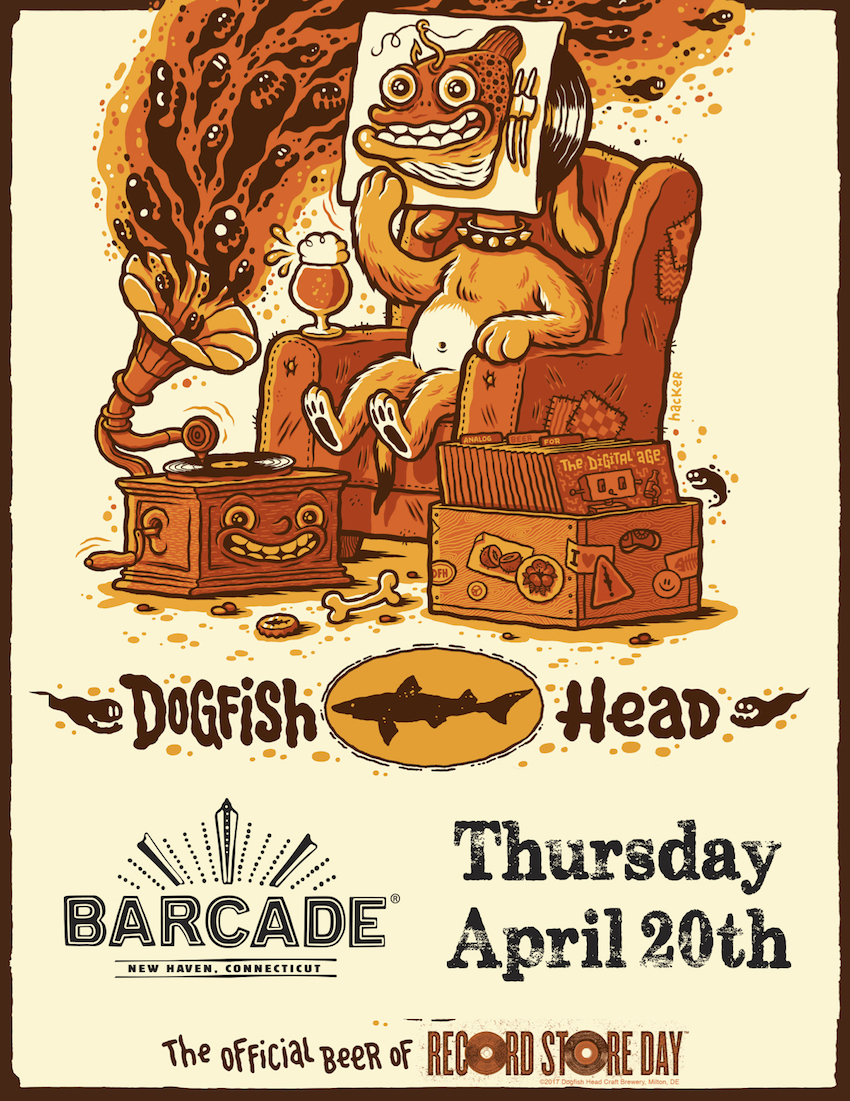 Record Store Day w/ Dogfish Head!