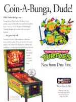 Teenage Mutant Ninja Turtles (pinball) — 1991 at Barcade® in New Haven, Connecticut
