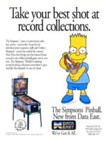 The Simpsons (pinball) — 1990 at Barcade® in New Haven, Connecticut