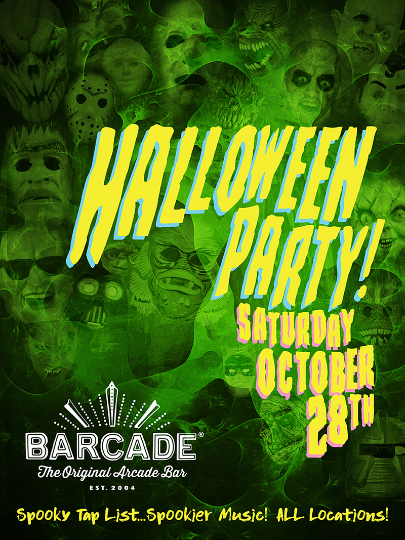 Barcade Halloween Party!