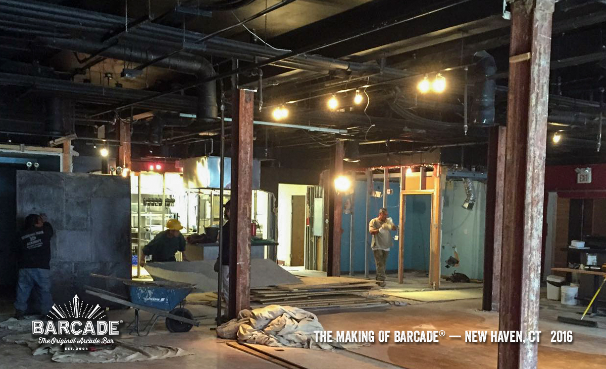 Making Of Barcade in New Haven, CT | a photo link to the Flickr gallery