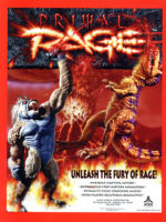 Primal Rage — 1994 at Barcade® in New Haven, Connecticut   arcade video game