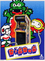 Dig Dug — 1982 at Barcade® in New Haven, CT