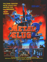 Metal Slug 2 — 1998 at Barcade® in New Haven, CT