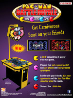 Pac-Man Battle Royale — 2010 at Barcade® in New Haven, CT