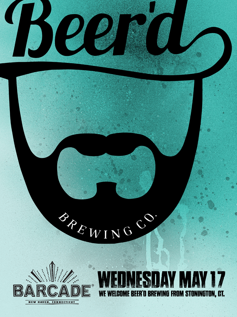 Beer'd Brewing Co. Night — May 17, 2017 at Barcade® in New Haven, CT