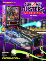Ghostbusters (pinball) — 2016 at Barcade® in New Haven, Connecticut