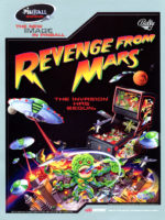 Revenge From Mars (pinball) — 1999 at Barcade® in New Haven, Connecticut