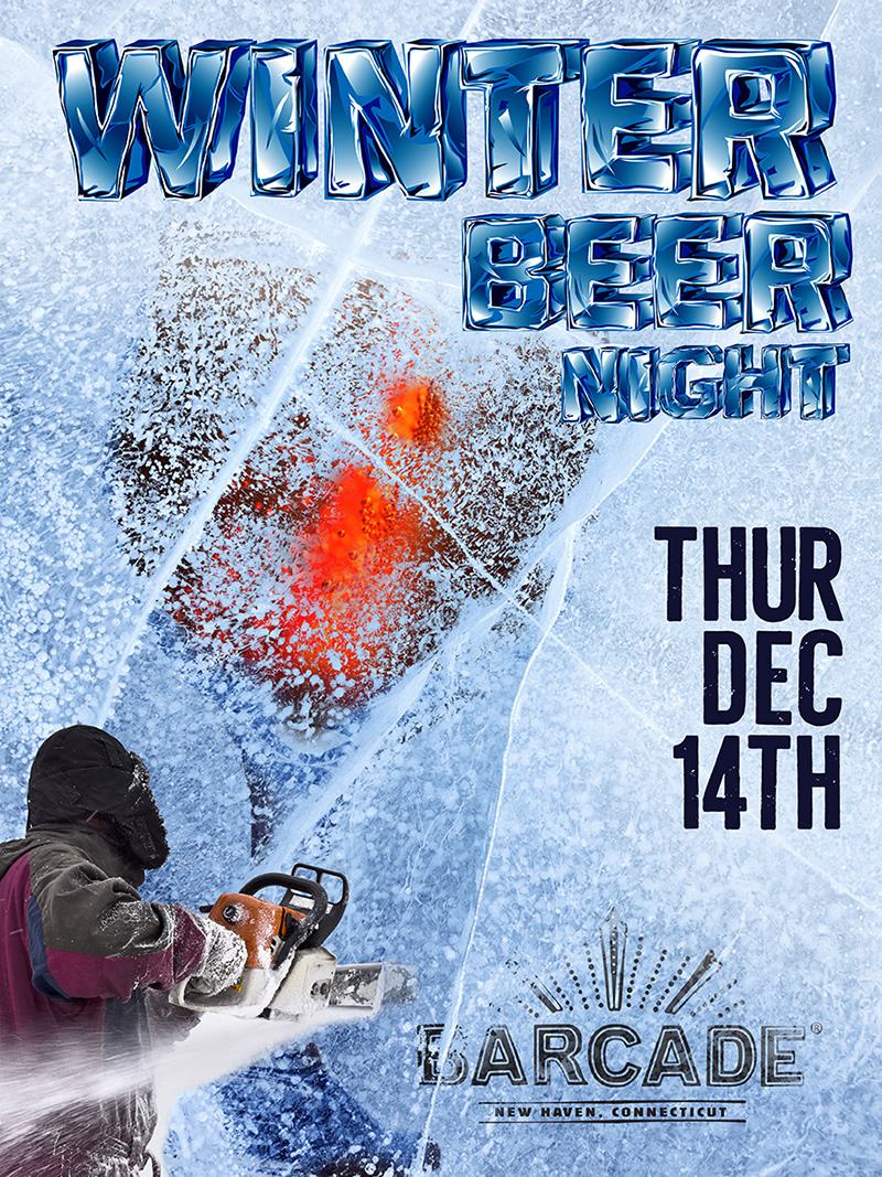 Winter Beer Night — December 14, 2017 at Barcade® in New Haven, Connecticut