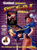 Street Fighter II (pin) — 1993 at Barcade® in New Haven, Connecticut