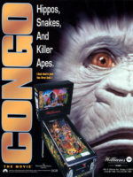 Congo The Movie (pinball) — 1995 at Barcade® in New Haven, Connecticut | pinball game