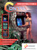 Contra — 1987 at Barcade® in New Haven, Connecticut | arcade video game