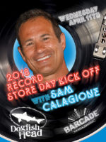 Dogfish Head Pre Record Store Day Kick-Off with Sam Calagione —April 11, 2018 at Barcade® in New Haven, CT