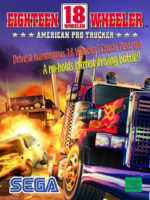18 Wheeler American Pro Trucker — 2000 at Barcade® in New Haven, Connecticut | arcade video game