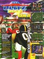 NFL Blitz 2000: Gold Edition — 1999 at Barcade® in New Haven, Connecticut | arcade video game