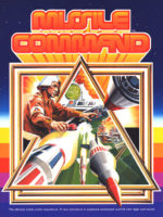 Missile Command — 1980 at Barcade® in New Haven, Connecticut | arcade game flyer graphic