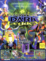 Gauntlet Dark Legacy — 2000 at Barcade® in New Haven, Connecticut | arcade game flyer graphic