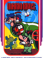 Mario Bros. — 1983 at Barcade® in New Haven, Connecticut | arcade game flyer graphic