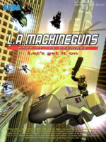 L.A. Machineguns — 2003 at Barcade® in New Haven, Connecticut | arcade game flyer graphic