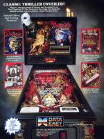 Phantom of the Opera (pinball) — 1990 at Barcade® in New Haven, Connecticut | arcade game flyer graphic