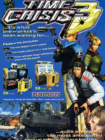 Time Crisis 3 — 2002 at Barcade® in New Haven, Connecticut | arcade game flyer graphic