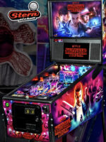 Stranger Things (pinball) — 2019at Barcade® in New Haven, Connecticut | arcade video game flyer graphic