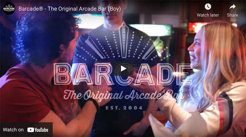 Barcade You Tube Commercial link image